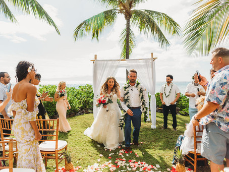 Maui Wedding Planner | Wedding Packages | Jasmine and Frank's Ponomakena Hawaiian Style Wedding