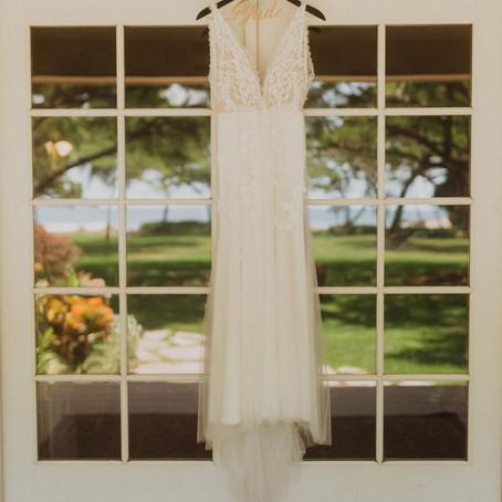 Maui Wedding Planner   Wedding Packages   Leilani and Lester's Soft Light Oluwalu Plantation Wedding