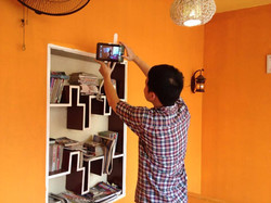 Setup of our first Vietnamese videos