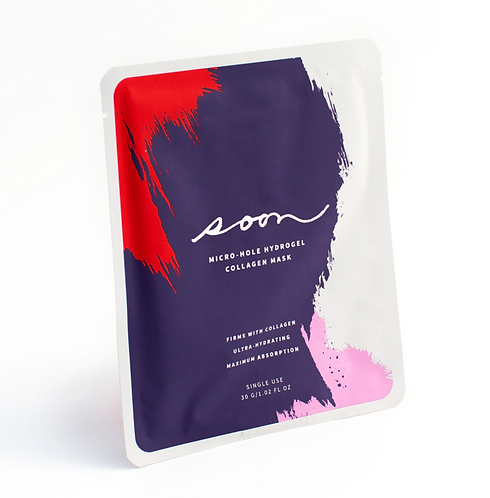 Micro-Hole Hydrogel Collagen Face Mask