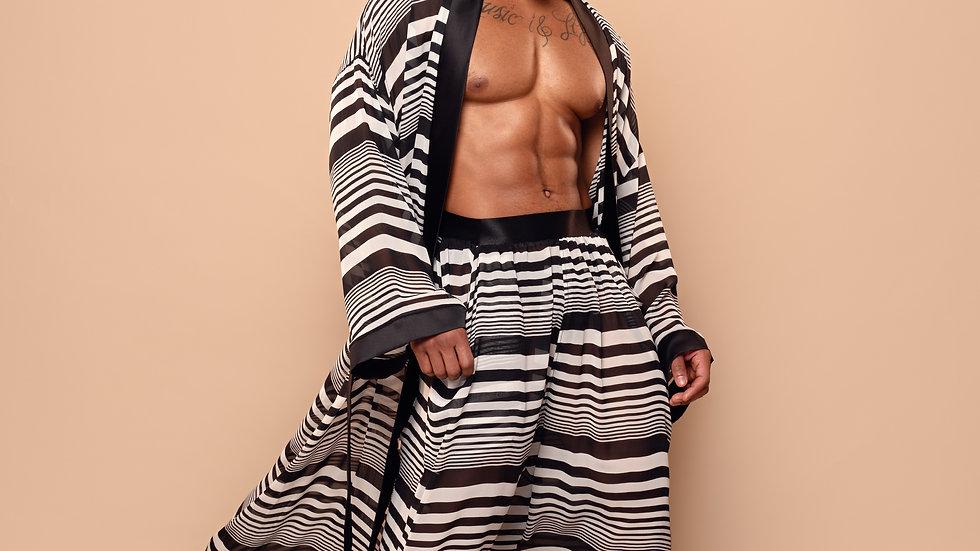 Stripe Chiffon Set