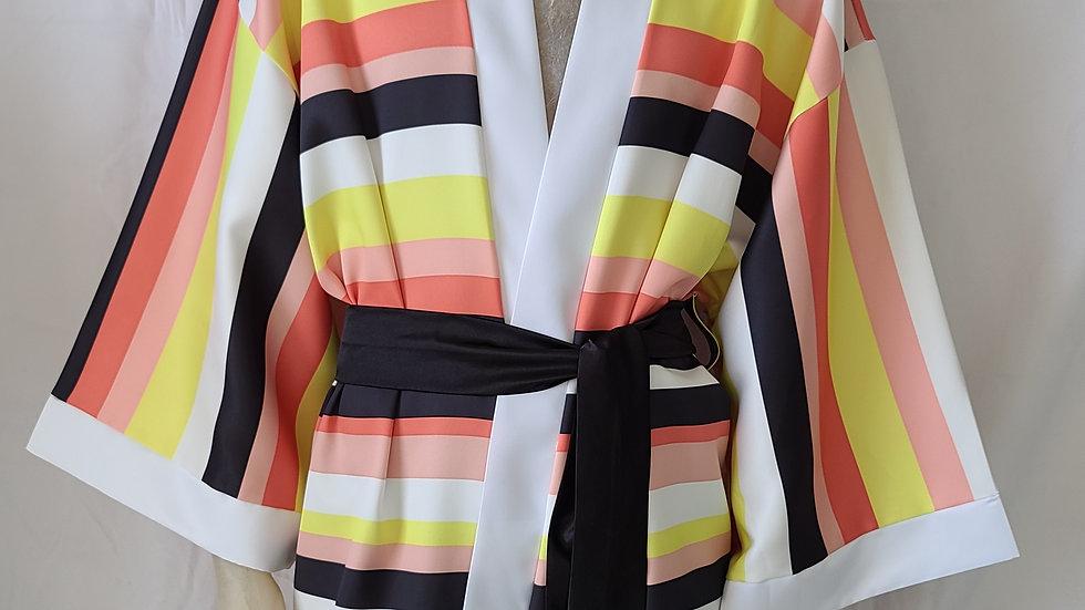 Candy Stripe Kimono