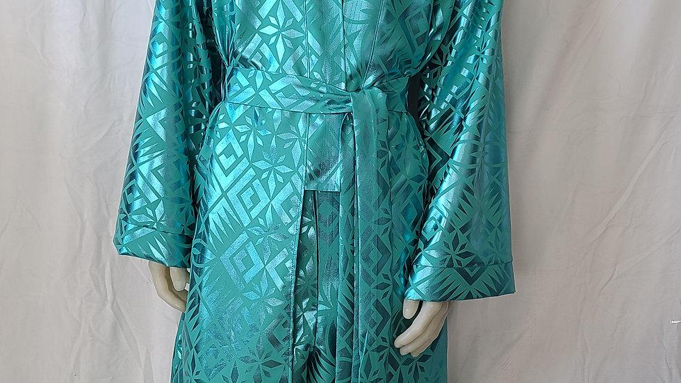 Frosty Long Kimono