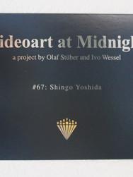Videoart at Midnight #67 Shingo Yoshida