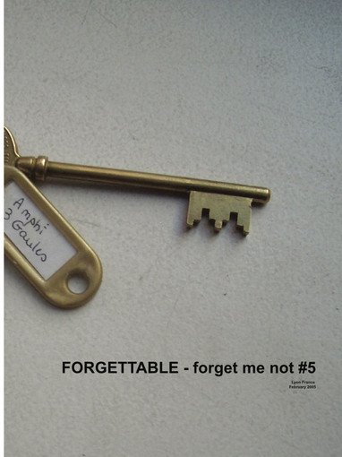 Forgettable / forget me not #5