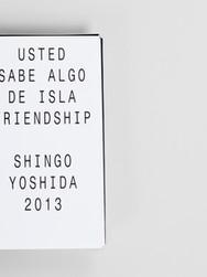Catalog : USTED SABE ALGO DE ISLA FRIENDSHIP 2013