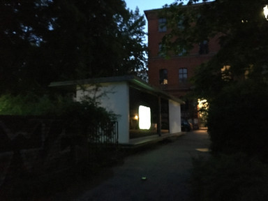 Personal  Exhibition  View  Pavillon am Milchhof  (Berlin, Germany 2018)