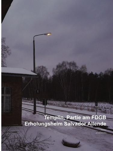 Templin, Partie am FDGB  Erholungsheim Salvador Allende