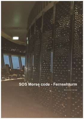 SOS Morse code – Fernsehturm
