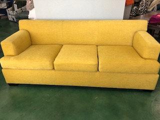 Contemporary Yellow Sofa
