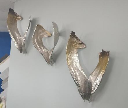 3 Dimensional Metal Wall Art