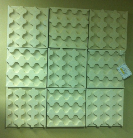 Set of 4 wall panels