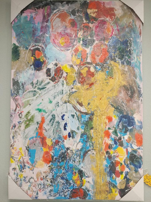 Multi-Color Abstract Art