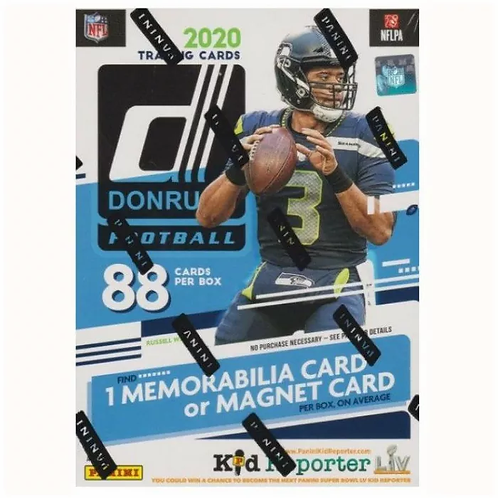 2020 Donruss Panini Football Card Pack