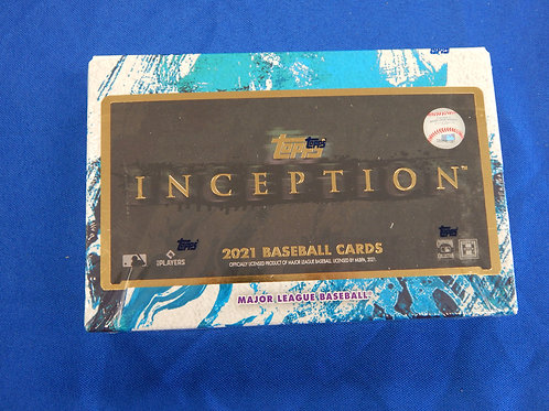 2021 Topps Inception Baseball Cards