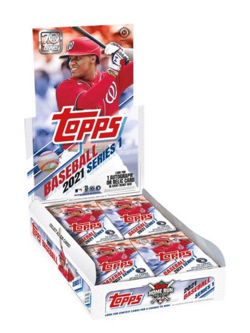 Topps 2021 Series 1 Baseball Hobby Box