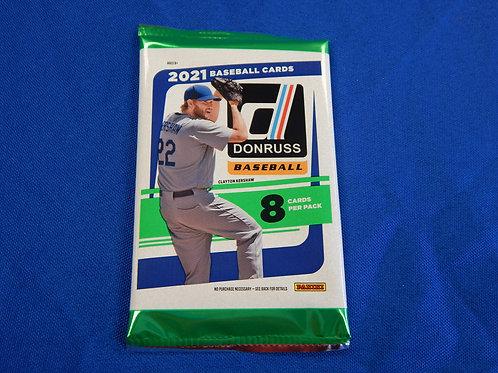 2021 Panini Donruss Baseball Wax Pack