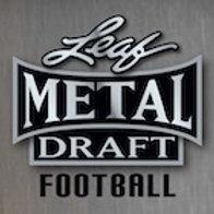 2020 Leaf Metal Draft Football Trading Card Box