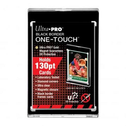 130PT Black Border UV ONE-TOUCH Magnetic Holder