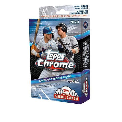 2020 Topps Chrome Baseball Pack