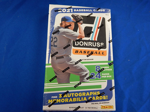 2021 Panini Donruss Baseball Wax Box