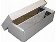 BCW Trading Card/Slab Storage Box -- 1600 Count (Shoe Box)