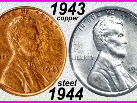Rare 1943 & 1944 Pennies
