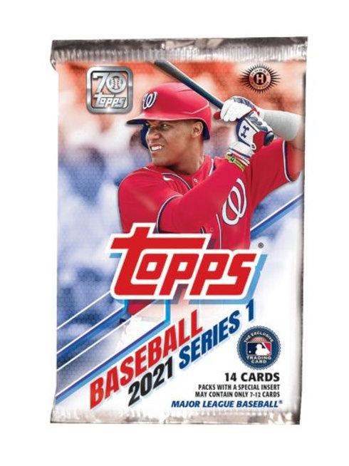2021 Topps Baseball Series 1 Packs