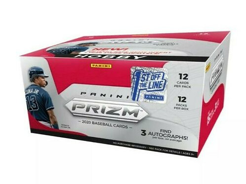 2020 Panini Prizm Baseball Card Pack