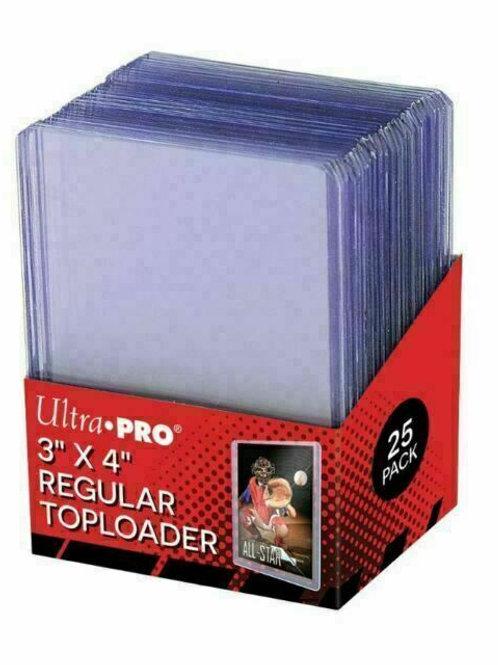 Ultra Pro Regular Toploader 25 Pack 81222