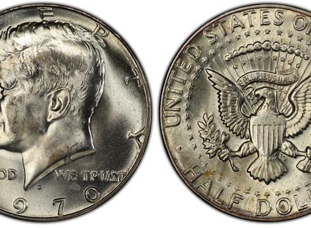 1970-D SILVER HALF DOLLAR
