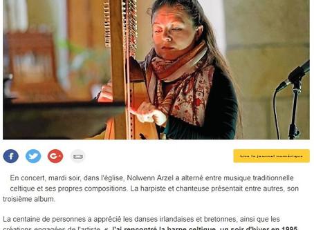 Concert Nolwenn Arzel