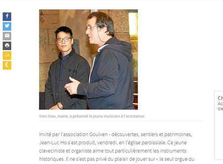 Concert Jean-Luc Ho