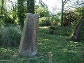 Stèle gauloise à Porsmeur