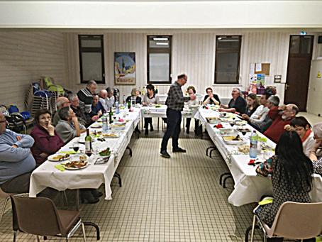 Un repas des adhérents et test de connaissances