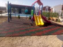 kauçuk karo zein kaplama oyun parkı zemini yumuşak zemin spor salonu zemini