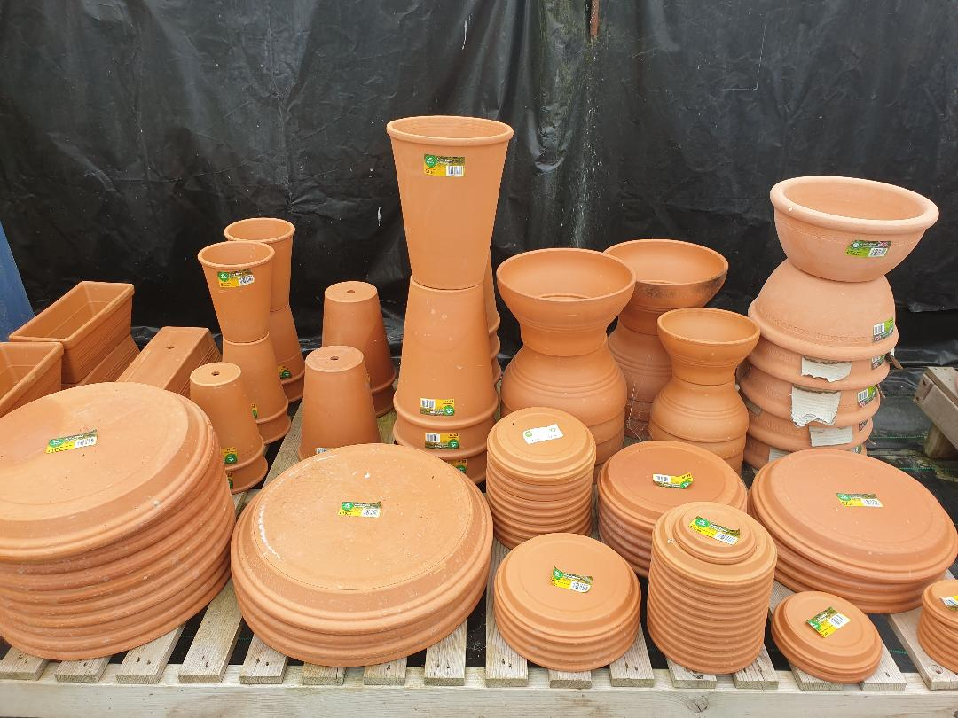 Saucers, Cylinders, Troughs, Bowls