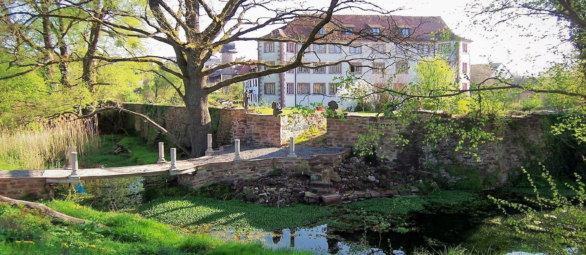 Brücke am Außengraben