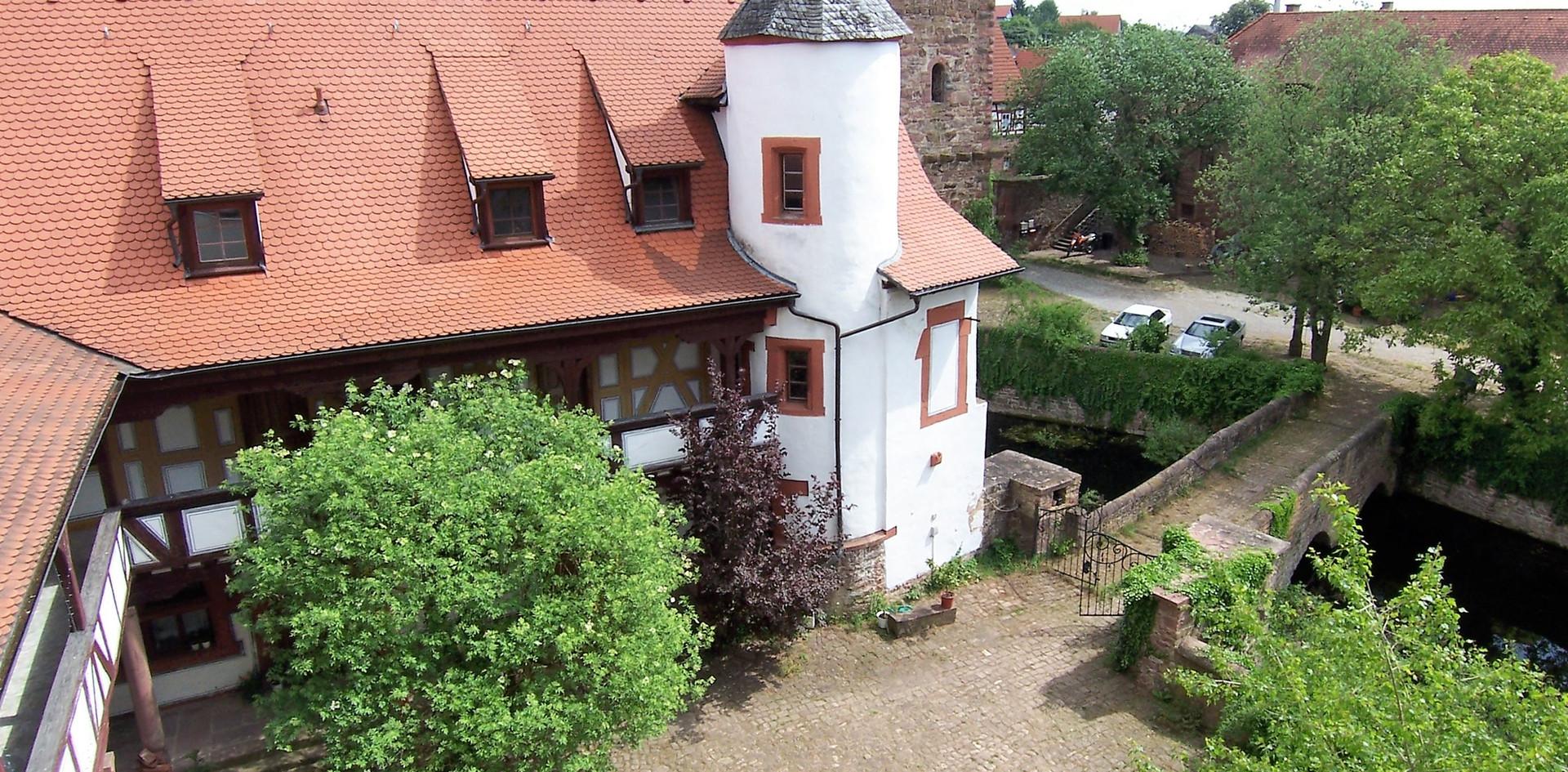 Flügelbauten Schloss