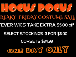 Freaky Friday Costume Sale!