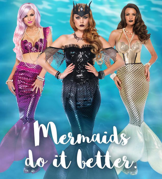Mermaids Do It Better at Hocus Pocus Halloween Costume Shop