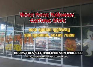 Hocus Pocus Halloween Costume Shop