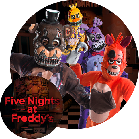 Five Night Freddie's children's costumes