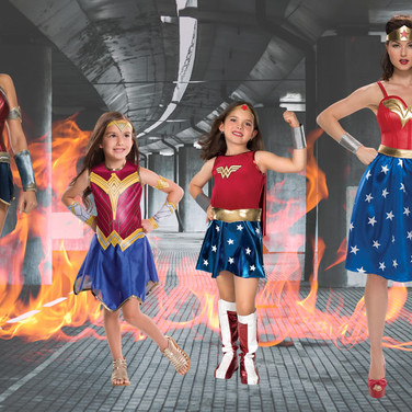 Super girls childrens's halloween costumes