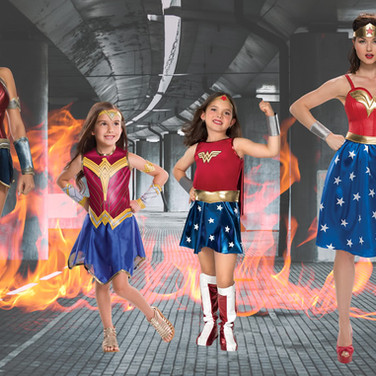 Super girls childrens's halloween costumes