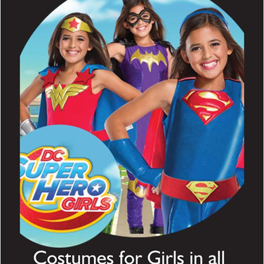 DC Super hero for girls
