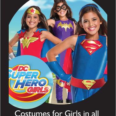 DC Super hero for girls