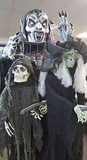Halloween Home Goods and Animatronics at Hocus Pocus Halloween Costumes in San Antonio, Texas