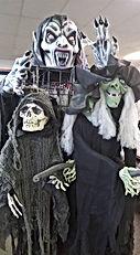 Halloween Home Goods and Animatronics at Hocus Pocus Halloween Costumes in San Antonio, Texas