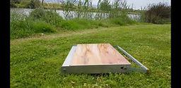 שולחן מתקפל אלומיניום